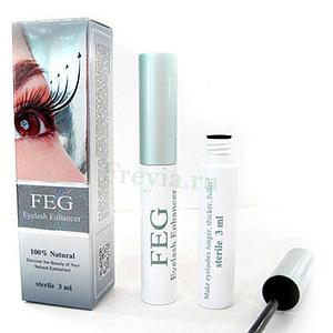Купить Эссенция для роста ресниц FEG 3 мл.,Интернет-магазин Freyia.ru (фрейя)