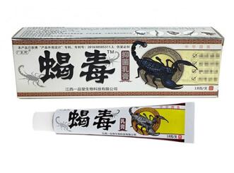 Купить Мазь Пихюфнь Седу (PI XUAN XIE DU) с ядом скорпионом