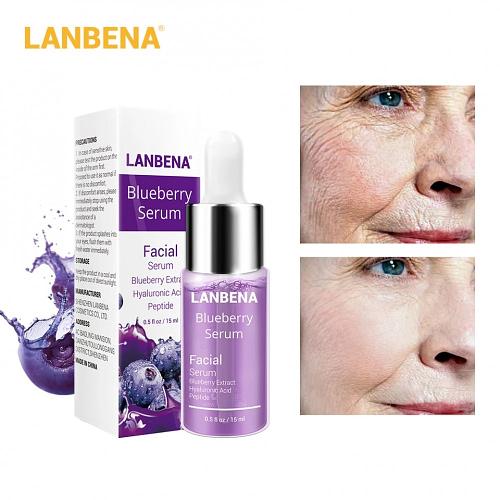 Купить Сыворотка LANBENA Blueberry Hyaluronic Acid 15мл.