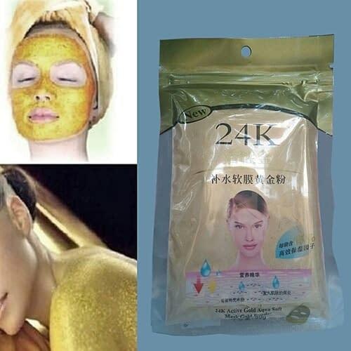 """Купить Золотая маска для лица """"24К"""" 50 гр"""
