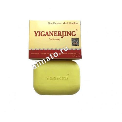 Купить Серное мыло от псориаза Yiganerjing (Иганержинг) 84 гр