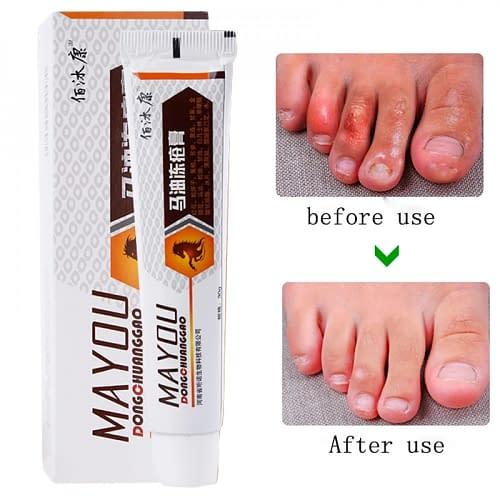 Купить Крем для ног с лошадиным маслом MAYOU DONG CHUANGGAO 30 гр.