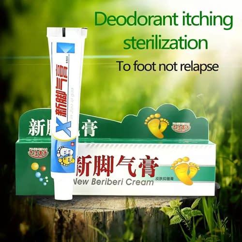 Купить Крем от грибка и потливости ног Beriberi cream 25гр